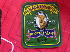 """CALEDONIA BREWERY """" SCOTCH ALE """"  BEER BOTTLE LABEL. NEW UNUSED"""