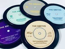 More details for the smiths. 5 coasters in a tin. morrissey. rough trade. popsters.