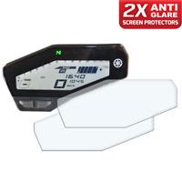2 x YAMAHA MT09 FZ09 (SP) Dashboard Screen Protector: Anti-Glare