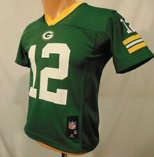 Aaron Rodgers Green Bay Packers NFL Jersey Youth S (8) Team Apparel Green