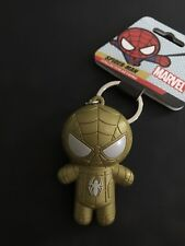Marvel Gold Spider-man Keychain key ring - New w/ Tags