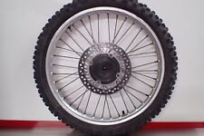 1992 1993 Honda CR125 CR500 CR 500 125 front wheel hub rim rotor disc