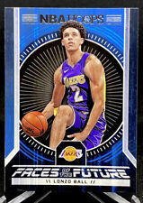 Lonzo Ball 2017-18 Panini Hoops Basketball Faces of the Futures #2 RC Rookie