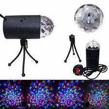New Mini 6W LED RGB Effect Stage Club Party Bar Disco 3D Rotating Light Lamp