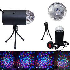 New Mini 6w LED RGB EFECTO Club Para Fiestas y Bares Disco 3d giratoria