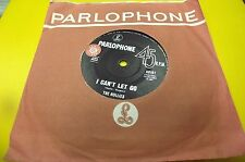 rare oz 45 the hollies i cant let go PROMO STICKERED
