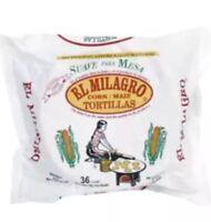 **El Milagro Tortillas** (48 Count, 4 Packs Total) Corn Tortillas