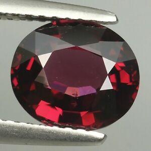 260 Cts Natural Rhodolite Garnet Round Cabochon Gemstone Necklace