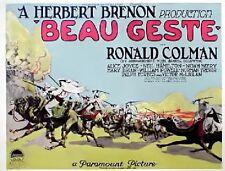 Beau Geste - 1926 - Brenon Ronald Colman Powell - Vintage b/w Silent Film DVD