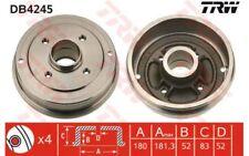 TRW Juego de 2 tambores frenos KIA RENAULT CLIO 19 SUPER 5 DACIA LOGAN DB4245