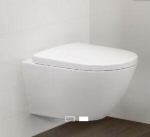 2xVilleroy & Boch Subway 2.0 WC Sitz Comfort, weiß 8M34S101
