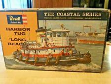 "Vintage Revell ""Long Beach"" Harbor Tug model kit H-314:100 the Coastal Series"