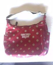 Cath Kidston Handbag Red White Polkadot Lg. Tote Red Spot Day Bag