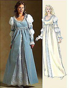 McCalls 5444 RENAISSANCE Medieval COSTUME DRESS PATTERN - Size 14-20 NEW