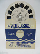 View-Master Reel 388, Gaspe Pennisula, Quebec, Canada, Single Reel