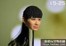 "1:6 KUMIK Accessory Asian Girl Female Head Sculpture For 12"" Figure Body KM15-25"