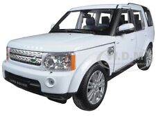 LAND ROVER DISCOVERY 4 WHITE 1:24 DIECAST MODEL CAR BY WELLY 24008