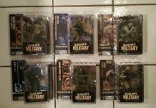 McFarlane Military Series 1 Set of 6 Seal Sniper Recon Infantry Ranger NEW