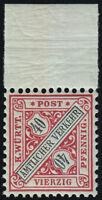 Württemberg Mi.Nr. 216 b postfrisch geprüft BPP Mi.Wert 120€ (978)
