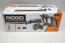 NEW Ridgid R9652 Gen5 X 18V Lithium-ion Cordless 5pc Combo Kit Drill Impact Saw