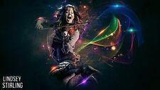 Lindsey Stirling Poster Length: 800 mm Height: 500 mm   SKU: 2387