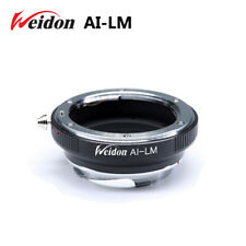 Weidon Nikon AI lens to Leica M LM camera Ring for M9  with TECHART LM-EA7