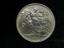 Victoria, Silver (.925), Crown 1888 (Wide Date, Scarce), AEF (Cleaned), JS321