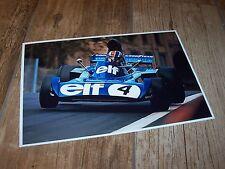 Photo / Photograph François Cevert TYRRELL Ford 006 Monaco 1973 //