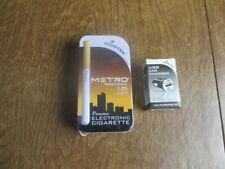 Electronic E - Cigarette   Vapor NICOTEK METRO TRADITION 1.2% + CAR CHARGER