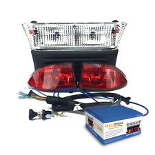 Club Car Precedent Electric Cart Light Kit w LED Tail Lights 04-08