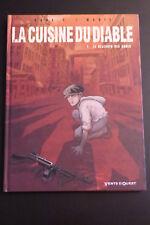 """BD La cuisine du diable """" le déjeuner des ogres """"  2004"""