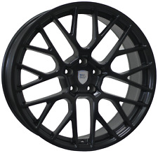 20 inch STAGGERED WIDEPACK SET FUJI wheels 20x9 Fr 20x10 Rr PORSCHE MACAN ITALY