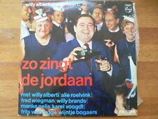 LP RECORD VINYL ZO ZINGT DE JORDAAN WILLY ALBERTI PRESENTEERT, ROELVINK,NELIS,VO