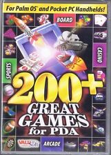 New! Sealed! 200+ Great Games for PDA, Palm, Pocket PC, PC - Free USA Shipping!