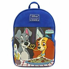 Loungefly Disney The Lady and the Tramp Spaghetti Dogs Mini Backpack WDBK0977