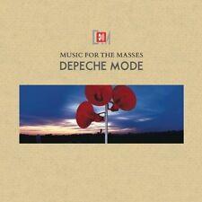 Depeche Mode Música para las masas Remasterizado 180gm Vinilo Lp Nuevo Y Sellado
