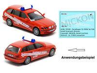 Mickon 50160 Decals BMW 3er E46 KdoW Feuerwehr Bremen passend für Herpa 1:87 H0