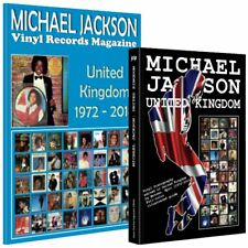 Lot - Michael Jackson United Kingdom - Book + Vinyl Records Magazine - New