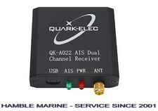 Marine AIS Receiver (Quark QK-A022) Dual Channel with USB output for boats
