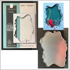 Underwater Collage metal die - Memory Box cutting dies 99742 under water frame