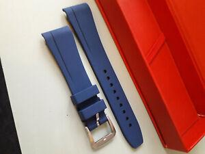 "Rolex Explorer 2 ""Vanguard"" New Blue Rubber Strap, Best Price Ebay"