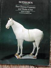 SOTHEBY'S New York Fine Chinese Ceramics & Works Art November 29 1988