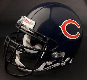 BRIAN URLACHER Edition CHICAGO BEARS Riddell REPLICA Football Helmet