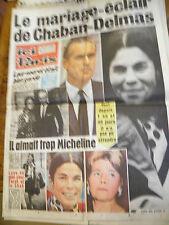 ICI PARIS n° 1368 oct 1971 Johnny Hallyday ruiné ! le mariage de Chaban-Delmas