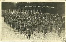 FRANCE BASTILLE DAY PARADE 1922 REAL PHOTO POSTCARD