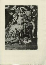 NORMAN LINDSAY 'AFTER THE CHASE'  1928  ORIGINAL LIMITED EDITION OF 550