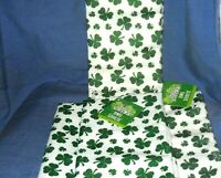 Shamrock Hand Towels - set of 4 St. Patrick's Day  Hand or Kitchen towels