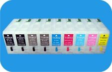 Refillable ink Cartridges for Epson Stylus Pro 3800 3880 3850 Auto-reset