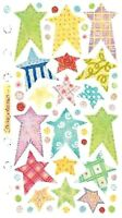 PASTEL STARS Vellum - Sticko Stickopotamus Scrapbooking Craft Sticker