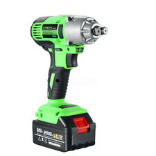 NEW 98VF 320NM 12000mAh Cordless Electric Impact Wrench Drill Screwdriver Gun MY